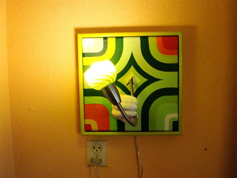 LED's go retro